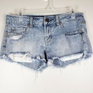 American Eagle Outfitters sz 4 denim shorts cotton